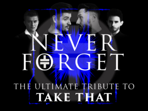 take that tribute at the venue